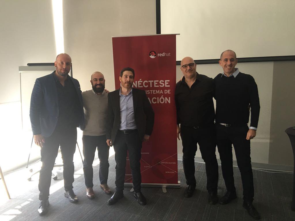 El equipo de speakers